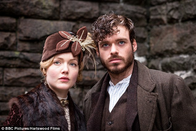 Lady Chatterley's Lover:  Holliday Grainger as Constance Chatterley and Richard Madden as Oliver Mellors