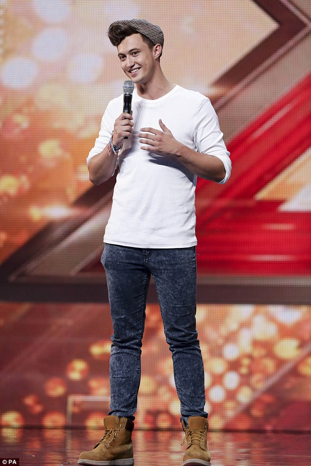 'You sang that really beautifully': Jordan Luke Gage, 27, received four yeses from the judges after wowing crowds with a special mashup of Rihanna's Stay and Charlie Puth's See You Again