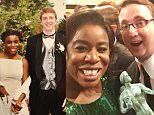 User Actions    Following   Uzo Aduba ?@UzoAduba He asked me to the prom, I said yes. I asked him to SAGs, he said yes. #sagawards @mcrow55