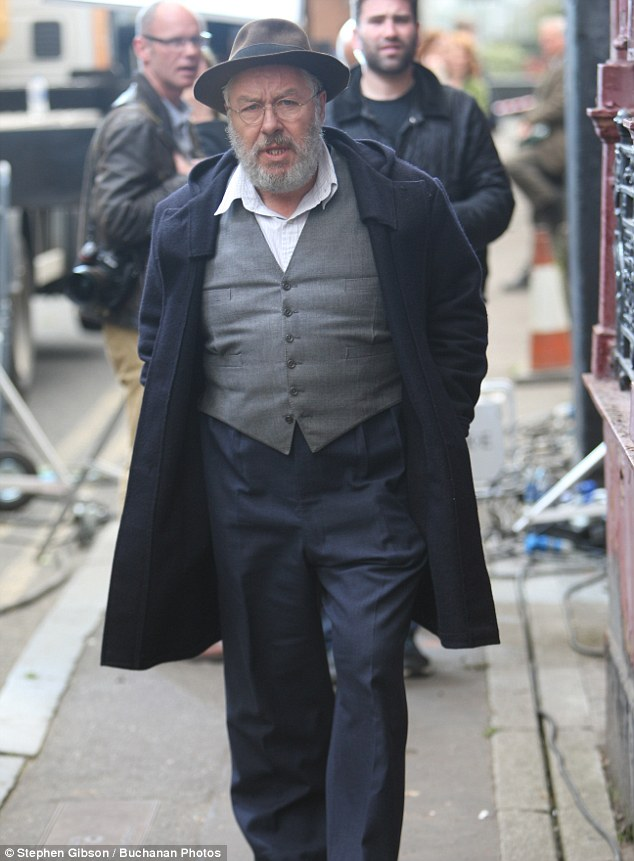 Star-studded: As well as Gregor (pictured) and Eddie, fellow actorsJames Cosmo andJohn Sessions also appear in the remake