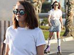 EXCLUSIVE: ** PREMIUM EXCLUSIVE RATES APPLY**Maisie Williams learns to roller skate with friends in Santa Monica\n\nPictured: Maisie Williams\nRef: SPL1217293  280116   EXCLUSIVE\nPicture by: StarTrax/ Splash News\n\nSplash News and Pictures\nLos Angeles: 310-821-2666\nNew York: 212-619-2666\nLondon: 870-934-2666\nphotodesk@splashnews.com\n