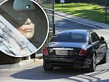 January 29, 2016: Kris Jenner shows up at Balck Chyna's house.