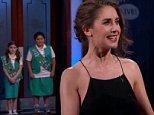 Alison Brie Jimmy Kimmel Live