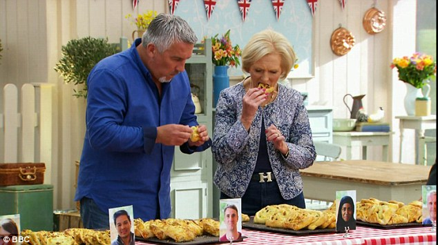 Tricky challenge: For the Technical Challenge the contestants were tasked with makingflaouna, 'a cheese-filled pastry from Cyprus eaten to celebrate the end of Lent'