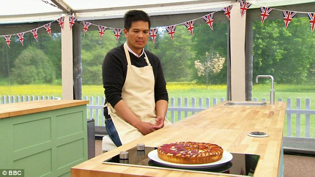 Not impressed: Alvin's final bake failed to win over Paul Hollywood and Mary Berry after his earlier fails