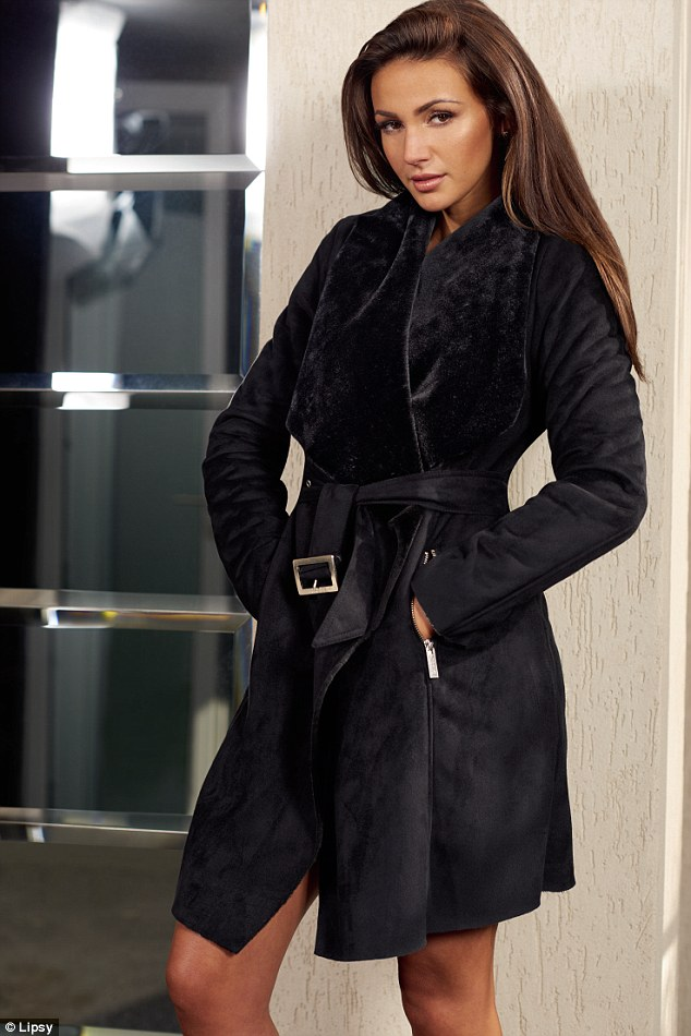 Michelle's go-to autumn clothing item is a 'key coat' or 'good pair of boots' as they can 'easily dress up an outfit'