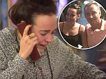 ` ****Ruckas Videograbs****  (01322) 861777\n*IMPORTANT* Please credit Channel 5 for this picture.\n29/01/16\nCelebrity Big Brother\nDAY 25\nSEEN HERE: Stephanie Davis is left very emotional after a phone call from her father, earlier today\nGrabs from today in the CBB house\nOffice  (UK)  : 01322 861777\nMobile (UK)  : 07742 164 106\n**IMPORTANT - PLEASE READ** The video grabs supplied by Ruckas Pictures always remain the copyright of the programme makers, we provide a service to purely capture and supply the images to the client, securing the copyright of the images will always remain the responsibility of the publisher at all times.\nStandard terms, conditions & minimum fees apply to our videograbs unless varied by agreement prior to publication.