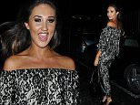 30 January 2016.\nCelebrities seen at Pure Bar in Kent this evening.\nPictured, Megan McKenna\nCredit: Ben Eade/GoffPhotos.com   Ref: KGC-102\n