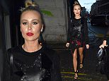 ALEX GERRARD ARRIVES AT NYL RESTAURANT  WITH FRIENDS FOR A GIRLS NIGHT OUT  \\n\\n***iCelebTV.com***\\n\\n***EXC ALL ROUND***