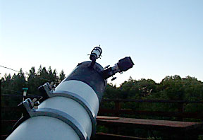 The discovery telescope.