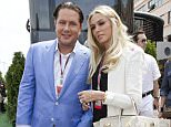 Petra Ecclestone and James Stunt pictured at the Grand Prix of Monaco during Formula One World Championship 2012, in Monte Carlo, Monaco, on May 27, 2012. Photo by Marco Piovanotto/ABACAPRESS.COM  # 321922_032