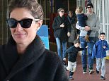 01/30/2016\nEXCLUSIVE: First Pictures Tom Brady and Gisele Take the Family Out in New York. Tom and Gisele were spotted talking the family out for a day of fun in New York City. The star quarterback was spotted for the first time since being being beaten by the Denver Broncos who ended the chances for New England to make it to the Superbowl. The family enjoyed the day first hitting up the Standard Hotel downtown and then over to Chelsea Pier for some laser tag and video games.\n \nPlease byline:TheImageDirect.com\n*EXCLUSIVE PLEASE EMAIL sales@theimagedirect.com FOR FEES BEFORE USE