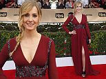 Actress Joanne Froggatt arrives at the 22nd Screen Actors Guild Awards in Los Angeles, California January 30, 2016.  REUTERS/Mike Blake
