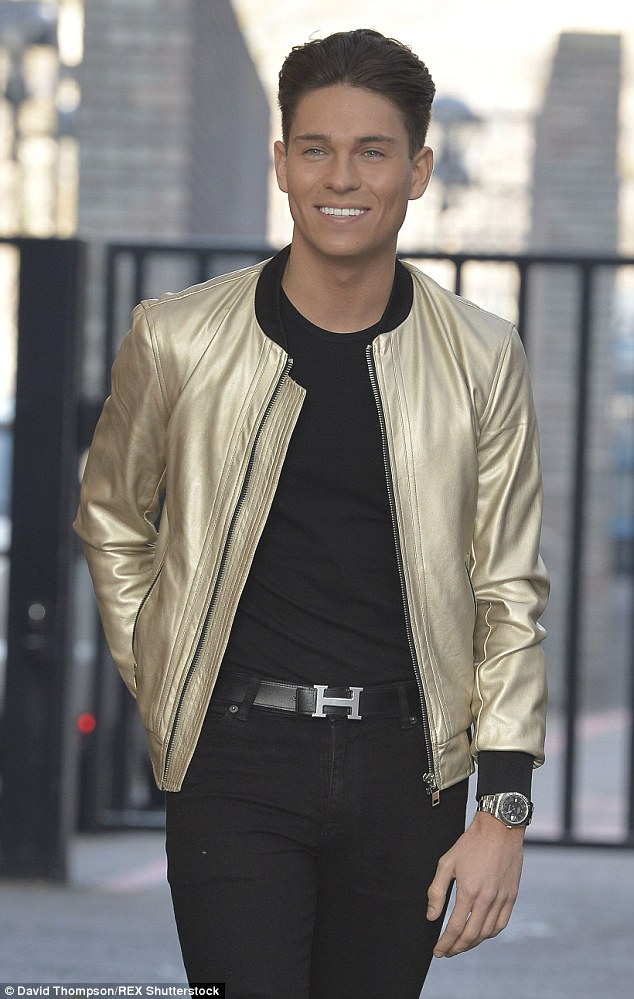 The Only Way Is Essex star Joey Essex was spotted wearing the luxury belt but with a silver buckle in 2014