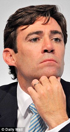 Debate: Shadow health secretary Andy Burnham also contributed to the radio discussion
