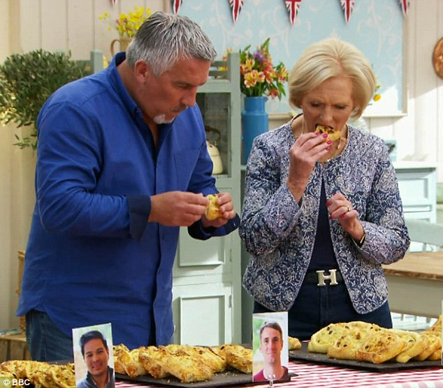 Mary Berry has been labelled a 'gangster' for wearing a £495 Hermès Vintage H buckle belt on The Great British Bake Off