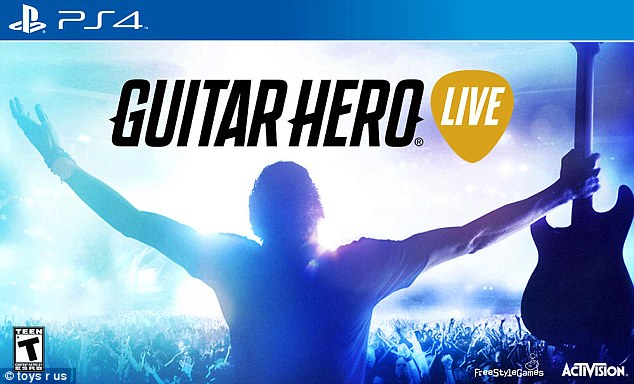 Guitar Hero Live for PlayStation and Xbox is up for sale for $99.99 for children with rock star ambitions