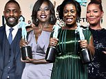epa05136142 Actress Viola Davis poses with the SAG Award for 'Outstanding Performance by a Female Actor in a Drama Series' for 'How to Get Away with Murder' during the 22nd Annual Screen Actors Guild Awards ceremony at the Shrine Auditorium in Los Angeles, California, USA, 30 January 2016.  EPA/PAUL BUCK