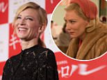 epa05117948 Australian actress/cast member Cate Blanchett attends a stage greeting during the movie premiere of 'Carol' in Tokyo, Japan, 22 January 2016. The movie will be released in movie theaters across Japan on 11 February.  EPA/CHRISTOPHER JUE