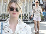 *** Fee of £100 applies for subscription clients to use images before 22.00 on 300116 ***\nEXCLUSIVE ALLROUNDERElle Fanning goes shopping in Studio City\nFeaturing: Elle Fanning\nWhere: Los Angeles, California, United States\nWhen: 29 Jan 2016\nCredit: WENN.com