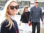 147446, EXCLUSIVE: Reese Witherspoon with husband Jim Toth spotted shopping in West Hollywood. West Hollywood, California - Saturday January 30, 2016. Photograph: � Survivor, PacificCoastNews. Los Angeles Office: +1 310.822.0419 sales@pacificcoastnews.com FEE MUST BE AGREED PRIOR TO USAGE