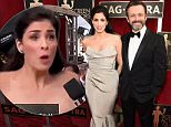 LOS ANGELES, CA - JANUARY 30:  Sarah Silverman and Michael Sheen  attend The 22nd Annual Screen Actors Guild Awards at The Shrine Auditorium on January 30, 2016 in Los Angeles, California. 25650_012  (Photo by Kevin Mazur/Getty Images for Turner)
