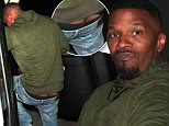 Actor Jaime foxx dine out with friends at Mr.Chow restaurant ,in Beverly Hills, CA\n\nPictured: Jaime Foxx\nRef: SPL1216529  290116  \nPicture by: Roshan Perera\n\nSplash News and Pictures\nLos Angeles: 310-821-2666\nNew York: 212-619-2666\nLondon: 870-934-2666\nphotodesk@splashnews.com\n