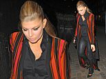 31 Jan 2016 - london - uk   Fergie Arrives at Chiltern Fire house in london   BYLINE MUST READ : EBELE / XPOSUREPHOTOS.COM  ***UK CLIENTS - PICTURES CONTAINING CHILDREN PLEASE PIXELATE FACE PRIOR TO PUBLICATION ***  **UK CLIENTS MUST CALL PRIOR TO TV OR ONLINE USAGE PLEASE TELEPHONE 44 208 344 2007**