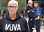 Amber rose takes her little son, Sebastian Taylor, to lunch at California Pizza Kitchen then to Target after her Twitter comments and spat with ex Kanye West makes headlines. Amber is dressed down in black sweats and wearing plastic frames, carrying her little one as an adoring mama. Saturday, January 30, 2016. X17online.com\\nNO WEB SITE USAGE \\nMAGAZINES DOUBLE FEES\\nAny queries call X17 UK Office 0034 966 713 949\\nGary 0034 686421720\\nLynne 0034 611100011 \\nAlasdair 0034 965998830