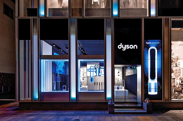 Opening:Dyson is planning to open its first shop in the UK in an attempt to replicate the success of Apple's stores