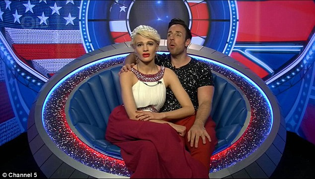 Annoying: Irritants Stevi and Chloe-Jasmine were delighted to have been saved by the public vote