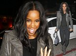 Kelly Rowland has recently stated that she is not ruling out a Destiny's Child reunion wearing a cute leather jacket heading to dinner.  Saturday, January 30, 2016. X17online.com