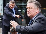 """New York, NY - Alec Baldwin is on set of his new movie project """"Drunk Parents"""" filming in New York and is spotted chasing down a truck and throwing a large rock at the driver.\nAKM-GSI          February 1, 2016\nTo License These Photos, Please Contact :\nSteve Ginsburg\n(310) 505-8447\n(323) 423-9397\nsteve@akmgsi.com\nsales@akmgsi.com\nor\nMaria Buda\n(917) 242-1505\nmbuda@akmgsi.com\nginsburgspalyinc@gmail.com"""