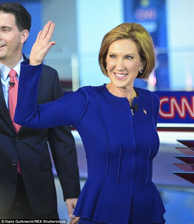 MADAME DEBATE WINNER: 52 percent of poll respondents said that Carly Fiorina was the winner of Wednesday night's primetime Republican debate