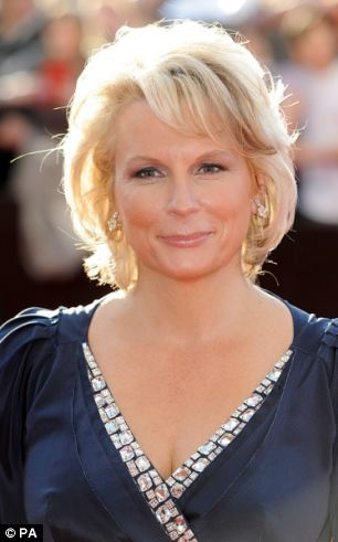 Recovered: Jennifer Saunders, pictured in full health, says that chemotherapy took a crippling toll on her