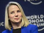 Marissa Mayer, Chief Executive Officer of Yahoo, during a panel session on the first day of the 44th Annual Meeting of the World Economic Forum (WEF) in Davos, Switzerland.   In a blogpost, Yahoo CEO Mayer on 01 September 2015 announced she was pregnant and expecting identical twins likely to be delivered in December 2015.    epa04907732  (FILE)  A file picture dated 22 January 2014. EPA/LAURENT GILLIERON