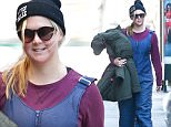 30 Jan 2016 New York, NY- USA\n*** STRICTLY AVAILABLE FOR UK AND GERMANY USE ONLY ***\n*EXCLUSIVE ALL ROUND PICTURES* \nA pink faced Amy Schumer walks home after a day on the slopes. The comedian seems to be in a great mood regardless of the recent plagiarism accusation against her. \nBYLINE MUST READ : AKM-GSI-XPOSURE\n***UK CLIENTS - PICTURES CONTAINING CHILDREN PLEASE PIXELATE FACE PRIOR TO PUBLICATION ***\n*UK CLIENTS MUST CALL PRIOR TO TV OR ONLINE USAGE PLEASE TELEPHONE 0208 344 2007*\n