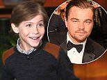 Star of the new film ìRoomî  JACOB TREMBLAY danced his way onto ìThe Ellen DeGeneres Showî on Tuesday, February 2nd and tells Ellen how he skipped the line to meet Leonardo DiCaprio and wished him good luck at the SAG Awards.  Jacob also tells Ellen he still has to do his homework and that when he grows up he wants to be a writer and a director.  Plus, Ellen gifts Jacob with a Star Wars Rebel tux for when he presents at the Oscars.