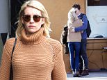 *EXCLUSIVE* Los Angeles, CA - Emma Roberts and her boyfriend Evan Peters had lunch at Mozza Pizzeria. The two love birds were kissing while they waited for their car at valet. Emma and Evan called off their engagement back in June, but it appears things are back in full swing. The two snuggled together on the windy LA. Emma is wearing a knit turtleneck with skinny jeans paired with Chloe Susanna Leather Studded Booties. \n \n  \nAKM-GSI       January 31, 2016\nTo License These Photos, Please Contact :\nSteve Ginsburg\n(310) 505-8447\n(323) 423-9397\nsteve@akmgsi.com\nsales@akmgsi.com\nor\nMaria Buda\n(917) 242-1505\nmbuda@akmgsi.com\nginsburgspalyinc@gmail.com
