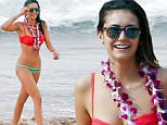 Picture Shows: Nina Dobrev  January 29, 2016\n \n ***NO WEB USE W/O PRIOR AGREEMENT - CALL THIBAULT AT FAMEFLYNET LA FOR PRICING***\n \n Actress and model Nina Dobrev was all smiles while spotted out on the beach in Maui, Hawaii with her friends. The girls seemed to enjoy their time while they were out in the ocean. \n \n Exclusive All Rounder\n UK RIGHTS ONLY\n \n Pictures by : FameFlynet UK © 2016\n Tel : +44 (0)20 3551 5049\n Email : info@fameflynet.uk.com