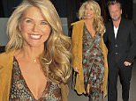 02/02/16 \nNewly turned 62, Christie Brinkley and boyfriend, John Mellencamp step out for a late dinner on Tuesday evening as Men's New York Fashion Week begins, here they step out together holding each other as they step out on Tuesday, February 2nd, 2016. \n Please byline:TheImageDirect.com