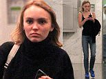 Picture Shows: Lily-Rose Depp  February 01, 2016    Model Lily-Rose Depp is seen stopping by a real estate office in Beverly Hills, California. Lily stopped to put her sweater on before leaving the building.     Non Exclusive  UK RIGHTS ONLY    Pictures by : FameFlynet UK © 2016  Tel : +44 (0)20 3551 5049  Email : info@fameflynet.uk.com