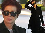 Picture Shows: Sharon Osbourne  February 02, 2016\n \n TV personality Sharon Osbourne is seen stopping by the Nine Zero One Hair Salon in West Hollywood, California. Sharon recently tweeted that she had a dream that she slept with Shaquille O'Neal.\n \n Non-Exclusive\n UK RIGHTS ONLY\n \n Pictures by : FameFlynet UK © 2016\n Tel : +44 (0)20 3551 5049\n Email : info@fameflynet.uk.com