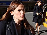 EXCLUSIVE: Jennifer Garner heads out for meeting in Midtown this afternoon in New York  Pictured: Jennifer Garner Ref: SPL1219690  020216   EXCLUSIVE Picture by: BlayzenPhotos / Splash News  Splash News and Pictures Los Angeles: 310-821-2666 New York: 212-619-2666 London: 870-934-2666 photodesk@splashnews.com