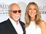 "LAS VEGAS, NV - JUNE 28:  Rene Angelil (L) and singer Celine Dion, arrive at the premiere of the show ""Veronic Voices"" at Bally's Las Vegas on June 28, 2013 in Las Vegas, Nevada.  (Photo by Gabe Ginsberg/WireImage)"