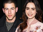"""PARK CITY, UT - JANUARY 22:  Nick Jonas attends the """"Miles Ahead"""" Premiere during the 2016 Sundance Film Festival at The Marc Theatre on January 22, 2016 in Park City, Utah.  (Photo by Nicholas Hunt/Getty Images for Sundance Film Festival)"""