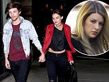 New dad One Direction singer Louis Tomlinson in love with disney actress Danielle Campbell in Venice, CA holding hands for a romantic stroll after celebrating birth of his son Freddie with another girl Brianna  feb 1, 2016 X17online.com NO WEB SITE USAGE NO MAGAZINE USAGE NO PAPER USAGE Any queries call X17 UK Office 0034 966 713 949 Gary 0034 686421720 Lynne 0034 611100011