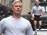 EXCLUSIVE ALL ROUNDER***NO WEB USAGE***PLEASE CALL TO AGREE FEE BEFORE ANY PUBLICATION*** Brad Pitt is seen filming his latest movie in central Paris\n31 January 2016.\nPlease byline: Vantagenews.com