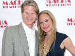 """WEST HOLLYWOOD, CA - DECEMBER 12:  Erica Rose (R) and Galen Gentry attend opening night of """"Garbo's Cuban Lover"""" at Macha Theatre on December 12, 2015 in West Hollywood, California.  (Photo by Maury Phillips/WireImage)"""