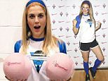Picture Shows: Ashley James  February 01, 2016\n \n Celebrities at the CoppaFeel! Celebrity Boob Ball at the Copper Box Arena, Queen Elizabeth Olympic Park in London, UK. Stars compete on the dodgeball court in a celebrity match organised in aid of CoppaFeel! All proceeds from the entrance fee go to charity. \n \n Non Exclusive\n WORLDWIDE RIGHTS\n \n Pictures by : FameFlynet UK © 2016\n Tel : +44 (0)20 3551 5049\n Email : info@fameflynet.uk.com